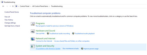 Fix Problems with Windows