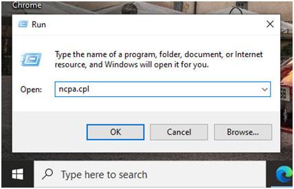 Windows+-R