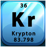 Krypton Element: Naming and History, Occurrence, Properties and Uses